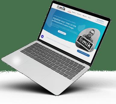 FEMIK - Freelance en création de site Internet, e-commerce et réalisation de logo