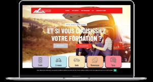 Création site Internet à Mulhouse 68 - Auto Ecole Montaigne
