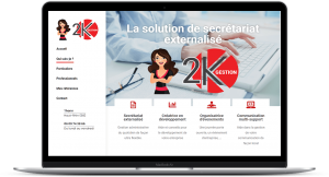 Femik - Création site web 2K Gestion 68 Thann
