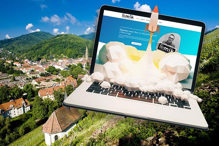 Agence web création site internet cernay thann FEMIK 68